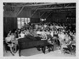 Max Helfman at the Piano