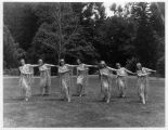 Photograph of May festival at Mills College