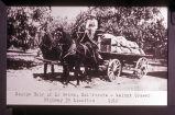 George Eaby of La Habra, California, walnut grower, Highway 39 location