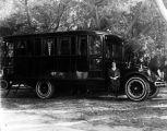 AHMES A.A.O.N.M.S bus, (c. 1930s), photograph