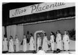 Photograph of Miss Placentia contest in 1969
