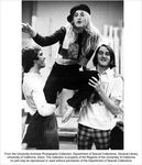 Drama production, Two men holding a woman in the air