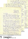 Letter from Russell Nakata to George Day, Professor of Sociology, Occidental College, May 17, [1942]