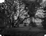 Photograph of croquet game at Mills College