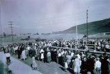 Photograph of the opening ceremonies of El Encanto