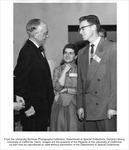 President's Reception, Robert Gordon Sproul, left