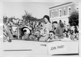South San Francisco Bicentennial Parade - Honorable Judge John J. Fahey in parade car (1958)