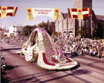 Pasadena Tournament of Roses Parade--Arcadia Float, 1966