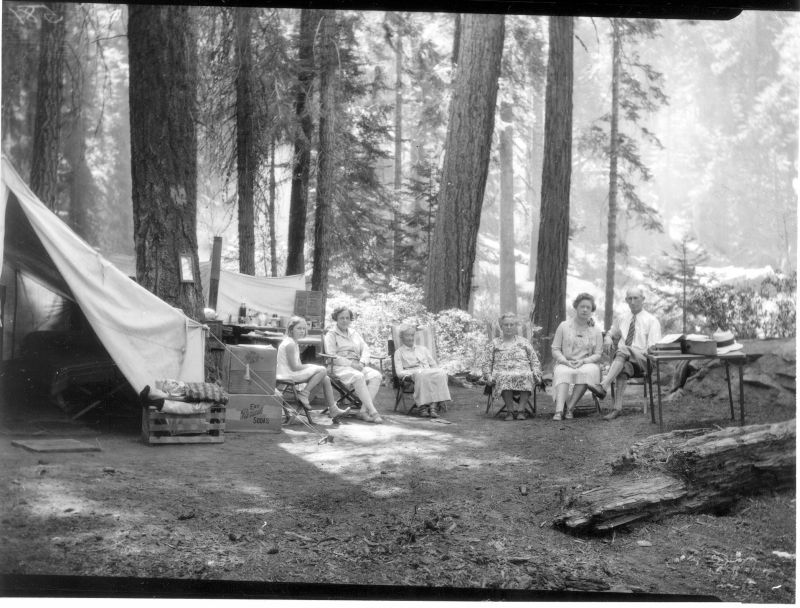 content.cdlib.orgFamily Camping, Tulare County, Calif., ca 1920s