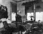 Photograph of a student room at Mills College