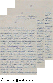Letter from Mutsuo Hirose to [Afton] Nance, 1945 Jan 17