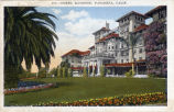 Postcard:  Second Raymond Hotel