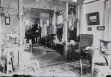 Photograph of the interior of the French residence