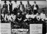 Baseball Team, 1898. Boys of the Union League. Placentia, Cal.