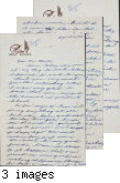 Letter from Kazue Muragishi to [Afton] Nance, 1943 Aug 13