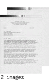 Letter to Linda (Giese) Patterson from John C. Cornelson, Commanding Major of the US. Infantry