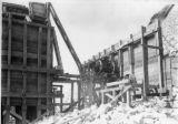 Crusher and bulkhead at toe of Dump Forebay Camp