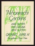 Nihonmachi Gardens opening