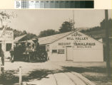 Mill Valley and Mount Tamalpais Scenic Railway, Mill Valley Depot