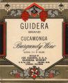 Guidera wine label