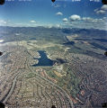 [Lake Mission Viejo aerial view, 1987 photograph].