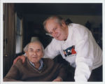 Photograph of Nicolas Slonimsky and Ernest Fleischmann