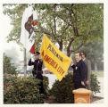 Photograph of flag raising for All America City celebration