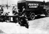 Traffic Court on Wheels, Inglewood, California