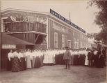 Employees at Cawston Ostrich Farm, ca. 1910