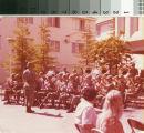 Dedication of Memorial Room at San Mateo Library 8/9/74 - 6th Army Band