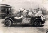 Cawston Ostrich Farm Automobile Float