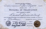 Brisbane Elementary School Graduation Diploma