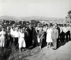 Fire Station 2 groundbreaking, 1959