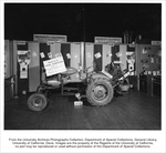 Onion harvester developed by the Agricultural Experiment Station, University of California