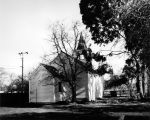 Old St. Raymond's Church looking east, (1970s), photograph