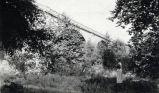 Pasadena Avenue Bridge in the Arroyo Seco, about 1930