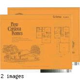 [New Cordova Homes, La Serena, plan 5 floor plan and exterior renderings brochure].