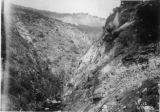 Cliffs on Road to Balch Powerhouse - -Blasting Cliffs on Balch PowerHouse Road
