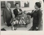 Campbell Rotary scholarship presentation 1968