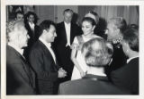 Photograph of David Frisina and Zubin Mehta with the  Empress and Shaw of Iran