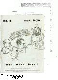 Win With Love, No. 3,  March 1970