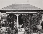 B.F. Conaway photograph of Samuel P. Bates residence