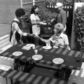 [39's Club Get Acquainted Barbecue, 1981 photograph].