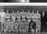 Photograph of Yuba City High School Basketball Team in 1965