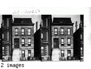 O'Leary Home, 558 De Koven St. where the big fire started. Chicago, Ill.