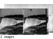 The American Falls from Luna Island, Niagara Falls. N.Y.