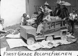 First grade become firemen / Lee Passmore