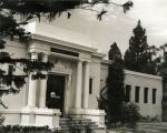 Coronado Public Library after the 1935 addition, c. 1940.