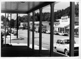 Main Street view from store front in Julian, CA