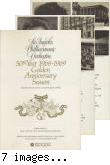 Brochure for the Los Angeles Philharmonic Orchestra 1968-1969 Season